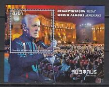 Armenia MNH** 2018 Mi.1076 Bl.93  Charles Aznavour