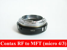Contax RF KIEV RF to Micro 4/3 M43 with focusing part CRF MFT adapter