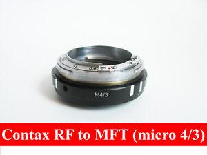 Contax RF KIEV RF to Micro 4/3 M43 with focusing part CRF MFT adapter