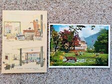 More details for maelands hotel postcards (x2) 1960s