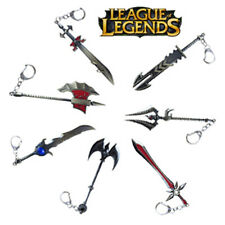League of Legends LOL game Theme weapon model Keychain Keyring Collectable Gift