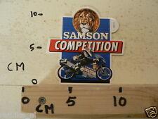 STICKER,DECAL SAMSON SHAG COMPETITION ROADRACE NO 3