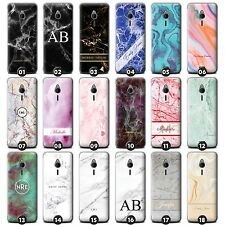 Personalised Marble Case/Cover for Nokia Phones Initial/Name/Custom/Customise