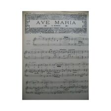 Piano Soleil No 9 Marsan Eilenberg Chant Piano ou Orgue 1897 partition sheet mus
