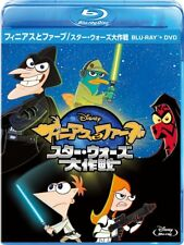 Phineas and Ferb Star Wars Bluray DVD Combo Pack Region A
