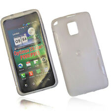 RUBBER SILIKON TPU COVER HANDY CASE in FOGGY für LG P990 OPTIMUS SPEED