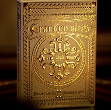 Grandmasters Casino (Foil Edition) Playing Cards by HandLordz - Limited Edition