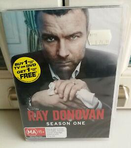 Ray Donovan Season One  DVD  Region 4 Showtime MA15+ BRAND NEW IN PLASTIC