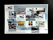 I.O.M. 4 March 1999 lifeboats M/Sheet ex bkt FDC