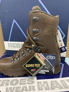 Brand New Haix Cold Weather Gore-Tex Waterproof Boots British Army Hiking Exped