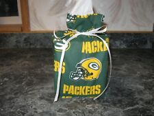 Nfl Green Bay Packers, green Cotton Fabric Handmade square Tissue Box Cover