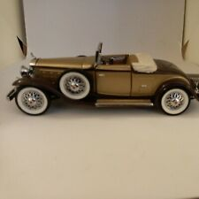 New ListingFranklin Mint 1930 Cadillac V-16 Precision Models 1:43 World's Greatest Nice