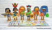 ÄGYPTER Steckfiguren set + BPZ, Ferrero 1996 EU - TOP