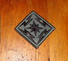 ARMY PATCH, ACU,  U.S. ARMY BROADCAST SERVICE WITH hook tape
