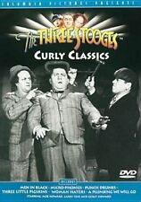 THE THREE STOOGES CURLY CLASSIC - DVD R4 PAL EXCELLENT CONDITION - FREE SHIPPING
