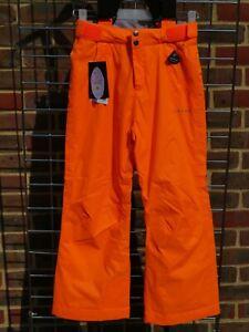 "Junior Salopette Ski Pant. Braces. Dare2B. Whirlwind. Orange. 28"" = 176cm."