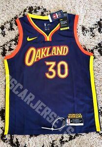 Maillot Jersey NBA Stephen Curry Golden States Warriors 30 Nike Swingman Edition