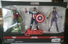 Marvel Legends Vision Hawkeye Captain America 3 Pack Toys R Us Exclusive MISB