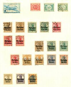 1919-1948 BELGIUM BELGIE BELGIQUE TE BETALEN Postage Stamps