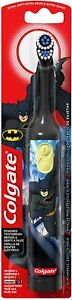 New Colgate Kids Battery Powered Toothbrush, Batman, 1 Count (Colours Vary)