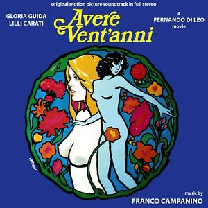 Franco Campanino To Be Twenty aka Avere Vent'Anni L'Ambizioso OST CD Digitmovies