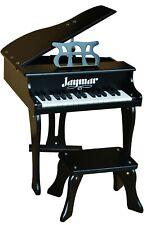 Jaymar 30 Key Toy Piano Black