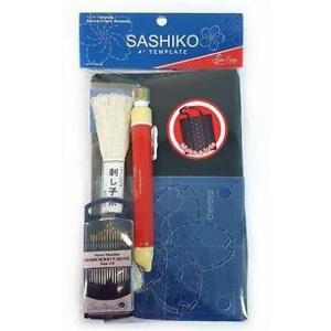 Sashiko Tote Bag Kit - Japanese Embroidery Tote Kit