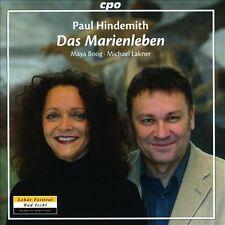 Das Marienleben Op. 27, New Music