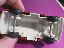 70'S RED/WHITE TOOTSIE TOY CHEMICAL TRUCK