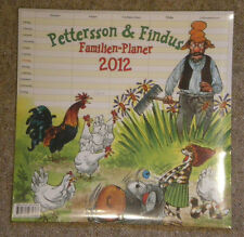 Pettersson und Findus – Familien-Planer 2012 – Pettersson & Findus, Neuware 2012