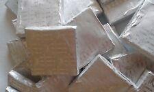 neapolitan chocolate squares,silver foiled x 50