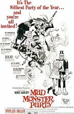 Frazetta Mad Monster Party Rankin Bass Full Size 1 sheet from 1999 video release