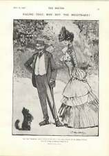 1906 Where To Find A Pedigree For The Dog Show Cartoon