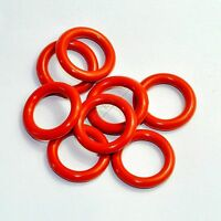 Tube Dampers Silicone O-Ring fit 12AX7 12AU7 12AT7 12BH7 EL84 50pcs for tube amp