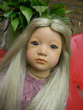 Annette Himstedt doll *Rose Neblina* sweet toddler w/ handblown glass eyes-OOAK