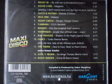 Fancy Max Him Silent Circle/Maxi Disco vol. 1 Italo Disco Hargent ovp pol. Ed.CD