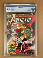 Avengers #116 - Bronze Age 10/1973 (Marvel) - 7.5 CBCS (Not CGC)