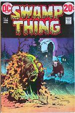 SWAMP THING #4 MAY 1973 DC COMICS CLASSIC BERNIE WRIGHTSON COVER & ART