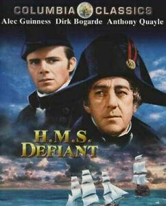 HMS Defiant DVD 1962 Alec Guinness Dirk Bogarde War Naval Movie Anthony Quayle