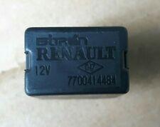 RENAULT KANGOO MK1 BLACK RELAY 7700414484