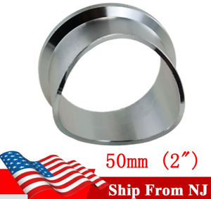 For Tial BOV Blow Off Valve V Band Weld On Flange Aluminum Charge Pipe Q QR 50mm