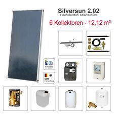 Solarbayer Solar Panel Modul System 12,12m² Warmwasser + Heizungsunterstützung