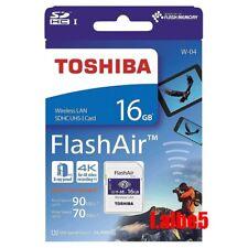 Genuine Toshiba 16GB 16G FlashAir SDHC SD Card Wifi Class 10 Wireless Retail W04
