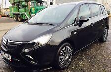 Vauxhall Opel ZAFIRA C - CHROME Window Trim Side Door Sill Covers Tuning Frame