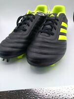 Adidas Copa Mens Black Synthetic Leather with Lace Up Soccer Cleats Size US 10.5
