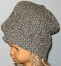 New babyGap Size S/M (17 inches circumference) Gray Knit Beanie Hat