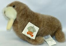 "Vtg Gund Schmedley Walrus 3255 Plush Brown 10"" 1986"