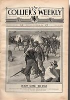 1899 Colliers October 21 - Boers go to war; McKinley honors Dewey; America's Cup