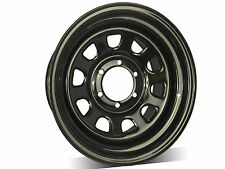 "16""X8 0P D HOLE BLACK SUNRAYSIAS  WHEELS,FOR Colorado,Triton,Hilux,Ranger,Patrol"