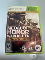 Medal of Honor: Warfighter Limited Edition (Microsoft Xbox 360, 2012) No Manual